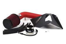 GrimmSpeed Wrinkle RED Stealthbox Intake w/Shield 2015-2016 WRX +21whp +32ftlb