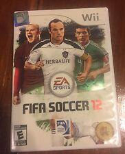FIFA Soccer 12 (Nintendo Wii, 2011)