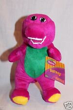 "NEW WITH TAG BARNEY PLUSH 7 1/2"" FISHER PRICE 2003 DOLL"