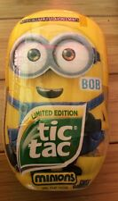 NEW! Minion Tic Tacs BOB Limited Edition BIG SIZE Despicable Me 3.4oz Candy