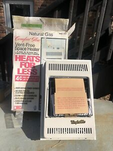 Comfort Glow 10,000 BTU Vent Free Gas Heater - N.O.S.