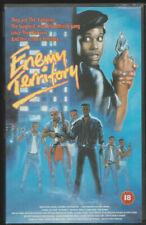 VHS Cassette Ex-Rental - Enemy Territory (1987) UK Ray Parker Jr / Tony Todd