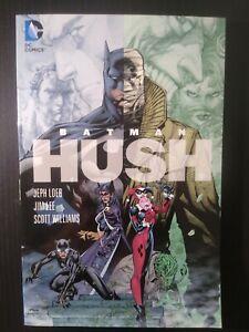 DC softcover graphic novel Batman:Hush 2009 Jim Lee and Jeph Loeb Very Fine