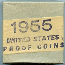 1955 Proof Set SEALED NEVER OPENED May Contain High Grade Cameo Coins!!