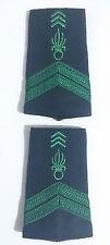 Paire des Fourreaux d'épaules Grades Galons pour CAPORAL Légion Étrangère