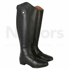 Womens Horseware Long Leather Black Riding Boots RRP £157.99