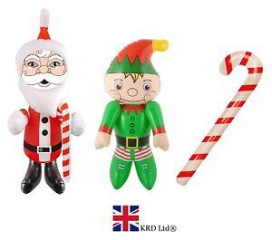 LARGE CHRISTMAS INFLATABLES Santa Snowman Xmas Blow Up Toy Decoration Lot UK