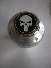PUNISHER LOGO ALUMINUM GEAR SHIFT KNOB TRANSMISSION  SHIFTER