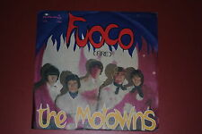 """THE MOTOWNS  FUOCO (FIRE)  IN THE MORNING 7"""" 45 GIRI"""
