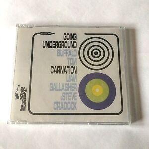 Buffalo Tom / Liam Gallagher & Steve Craddock GOING UNDERGROUND cd single OASIS
