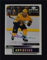 2019-20 19-20 UD Upper Deck MVP Stanley Cup Super Script 61 Viktor Arvidsson /25