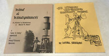 Wind and Windspinners & Electricity Generation Michael Hackleman PB Book Lot VTG