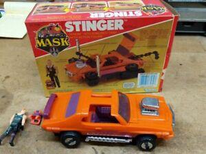 1985 Stinger GTO tank Kenner Venom M.A.S.K. Mask, in box, complete