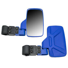 Blue Side View Mirror Set 1998-2019 Polaris Ranger RZR XP Crew 570 800 900 1000