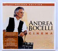 Andrea Bocelli Cinema Deluxe Edition CD Album New Sealed
