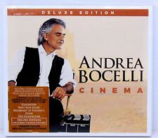 Andrea Bocelli Cinema Deluxe Edition CD Album new