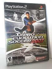 Winning Eleven Pro Evolution Soccer 2007 NEW Sony PlayStation 2 Sealed