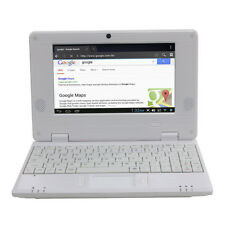 DWO netbook 7 pulgadas Android 4.4 Wifi VIA 8880 1GB RAM 8GB ROM (Blanco)
