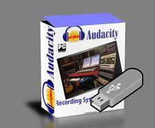 Music Recording studio DAW App software Windows XP,Vista,7,8,10-On 16 GB USB