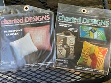 "Creative Bee Hive ""Needlepoint Sampler Designs"" - (2) Charts Packs - New"