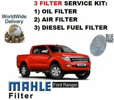 FOR FORD RANGER 2.2DT 3.2DT TDCi 2011--> SERVICE KIT OIL AIR FUEL 3 FILTER SET