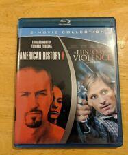 American History X & A History of Violence Blu Ray