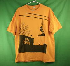 Rare Vintage Wiz Khalifa T Shirt Large Black Yellow Pittsburgh Taylor Gang Chuck