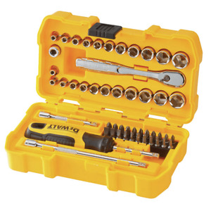 "DeWALT 1/4"" Drive 50 Piece Mechanics Tool Set Kit DWMT81610"