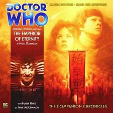 Dr Who Emperor of Eternity  (Dr Who Companion Chronicles) by Nigel Robinson | Au