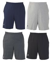 "Russell Athletic - Men's S-XL 2XL 3XL, Cotton Gym Shorts 10"" Inseam with Pockets"