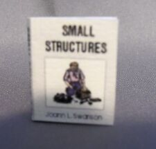 Dollhouse Miniature 1:12 Scale Small Structures Book