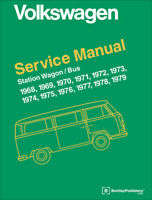 Volkswagen 1968-1979 Bus Pickup Camper Wagon Repair Workshop Service Manual Book
