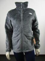 Womens The North Face Osito Midweight Soft Fleece Full Zip Jacket Medium Grey