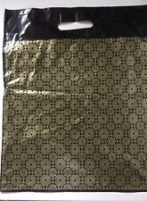 44 X Black Gold Carrier Bags