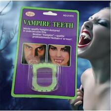 Glow in the Dark Vampire Fangs Kids Teeth Halloween Party Dracula Costume NX