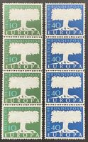 West Germany. Definitives. Europa is a STRIP. SG1187/88. 1957. MNH. (MSC665)