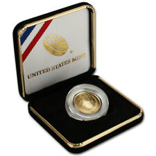 2014-W US Gold $5 National Baseball Hall of Fame Commemorative BU