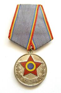 u192 Romania 1943 1953 RPR Communist Army Force X years anniversary medal