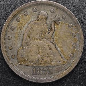 1875-S 20c Fine Condition