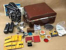 Bolex Rex 4 C-Mount Camera Body w/ Case ,Rex-o-Fader, and Many Accesories -Clean
