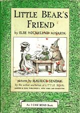 """""""Little Bear's Friend"""" by Else Holmelund Minarik (1960) Collectible Hardcover"""