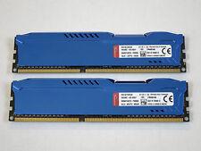 8GB (2x4GB) Kingston HyperX Fury DDR3 1600 (PC3 12800) Memory P/N HX316C10FK2/8