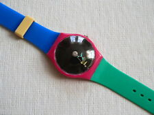 1993 Swatch Watch Crystal Surprise Collector Club Special By Alessandro Mendini