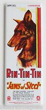 Rin Tin Tin FRIDGE MAGNET (1.5 x 4.5 inches) movie poster german shepherd