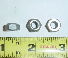 MS21042-02 2-56 Self Locking Hex Nut ~ Reduced Height x10pcs Cadmium Plated