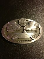VINTAGE 1990 CHEVROLET CAR C+J INC BELT BUCKLE MADE IN THE USA 1508
