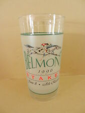 1996 BELMONT STAKES GLASS  Editor's note Winner.   Mint condition