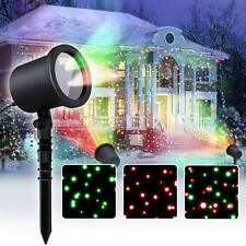 Star Laser Christmas Light Show Outdoor Decorations, Waterproof Landscape Lighti