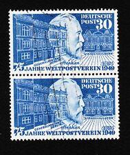 Germany 1949 Pair Scott 669 von Stephan Berlin PO Lightly Canceled Stamps L