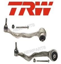 For BMW F22 F23 F30 F32 Pair Set of 2 Front Forward Control Arms & Bushings TRW